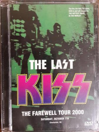 KISS - The Last Kiss-The Farewell Tour 2000 лиценз. DVD концерт