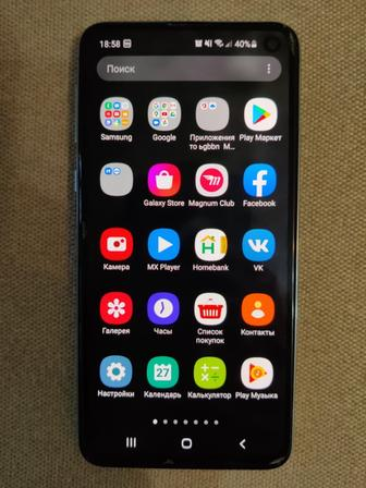 Samsung Galaxy S10e 6/128 Gb и Наушники Samsung Galaxy Buds