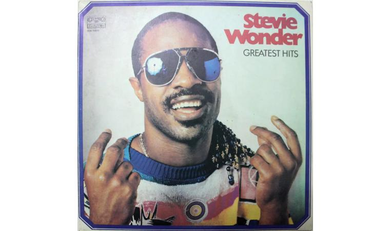 Пластинка. Винил. Stevie Wonder. Greatest Hits.