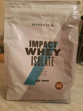 Протеин 1 кг. Изолят Impact Isolate Whey от компании Myprotein,