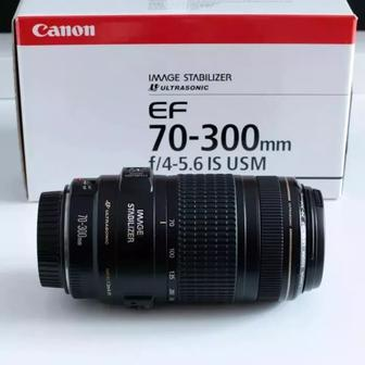 CANON EF 70-300 mm f/4-5. 6 IS USM