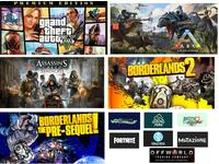 GTA 5, Fortnite, ARK, A'sC:Syndicate, Borderlands 2 (Акк)