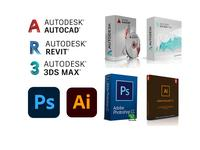 Установка Windows, Autocad, PhotoShop, Corel, Word, 3ds Max