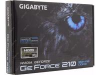 Видеокарта Gigabyte GeForce 210 DDR3 1gb