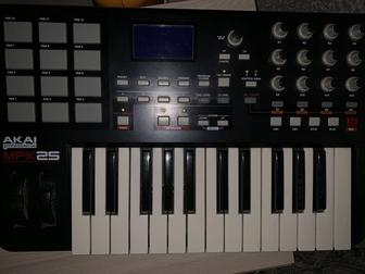 AKAI Mpk 25 Pro, midi and drum controller