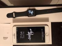 IPhone 7 128 gb и Apple Watch 3