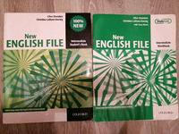 Продам книги New English File Intermediate, Upper intermediate