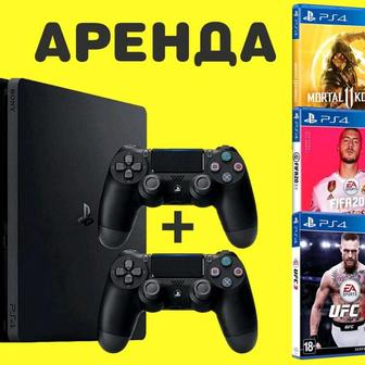 Аренда прокат сони пс 4, sony ps 4, (ps4) playstation 4, плейстейшен 4