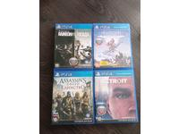 Игры для ps4 (Rainbow six siege Horizon zero down Assassin's unity Detroit)