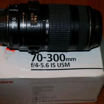 Canon ef 70-300mm f/4-5. 6 is usm. Фото 3