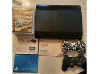 Sony PlayStation 3 super slim 500 gb. 5 игр