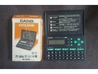 Телефонная книга CASIO DC-2000 Data Bank Ретро