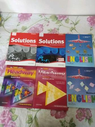 1. Solutions. Pre- intermediate. 2 Headway. Elementary 3. . English