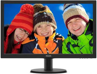 "Монитор 23, 6"" PHILIPS 243V5QHABA"