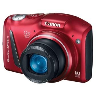 Фотоаппарат CANON PowerShot SX150 IS красный