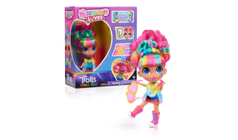 Кукла Hairdorables Loves Trolls World Tour - Хэрдораблс Тролли