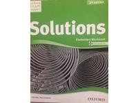 Oxford Solutions student's book, workbook